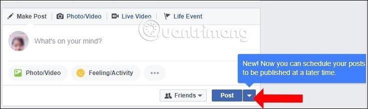 Cách Hẹn Giờ đăng Bài Trên Facebook 1