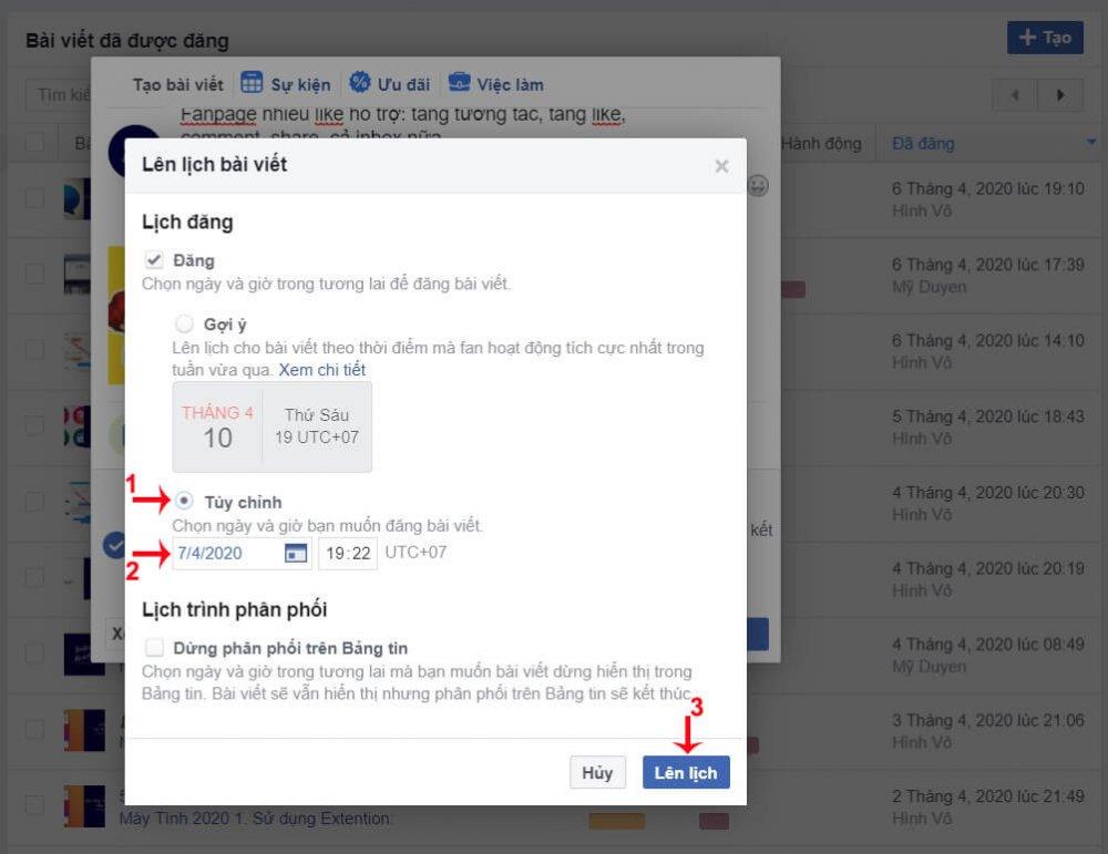 Cách Hẹn Giờ đăng Bài Trên Facebook 10
