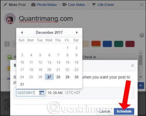 Cách Hẹn Giờ đăng Bài Trên Facebook 3