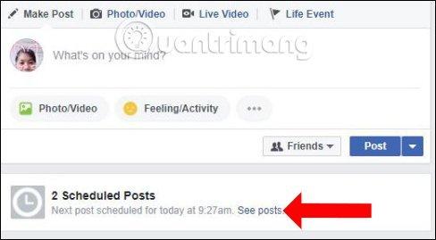 Cách Hẹn Giờ đăng Bài Trên Facebook 4