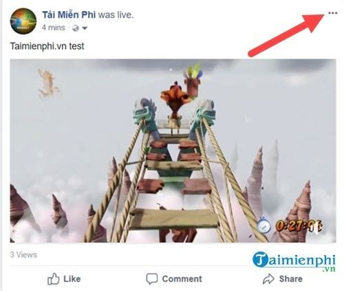 Cách Xoá Video Trực Tiếp Trên Facebook 1