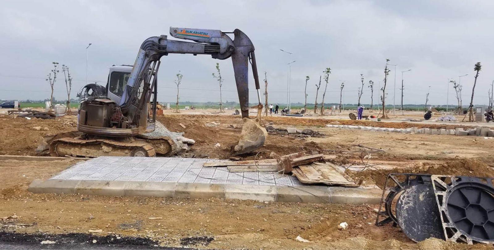 Đảm bảo nguồn cung đất san lấp cho các công trình trọng điểm - Báo Thừa  Thiên Huế Online