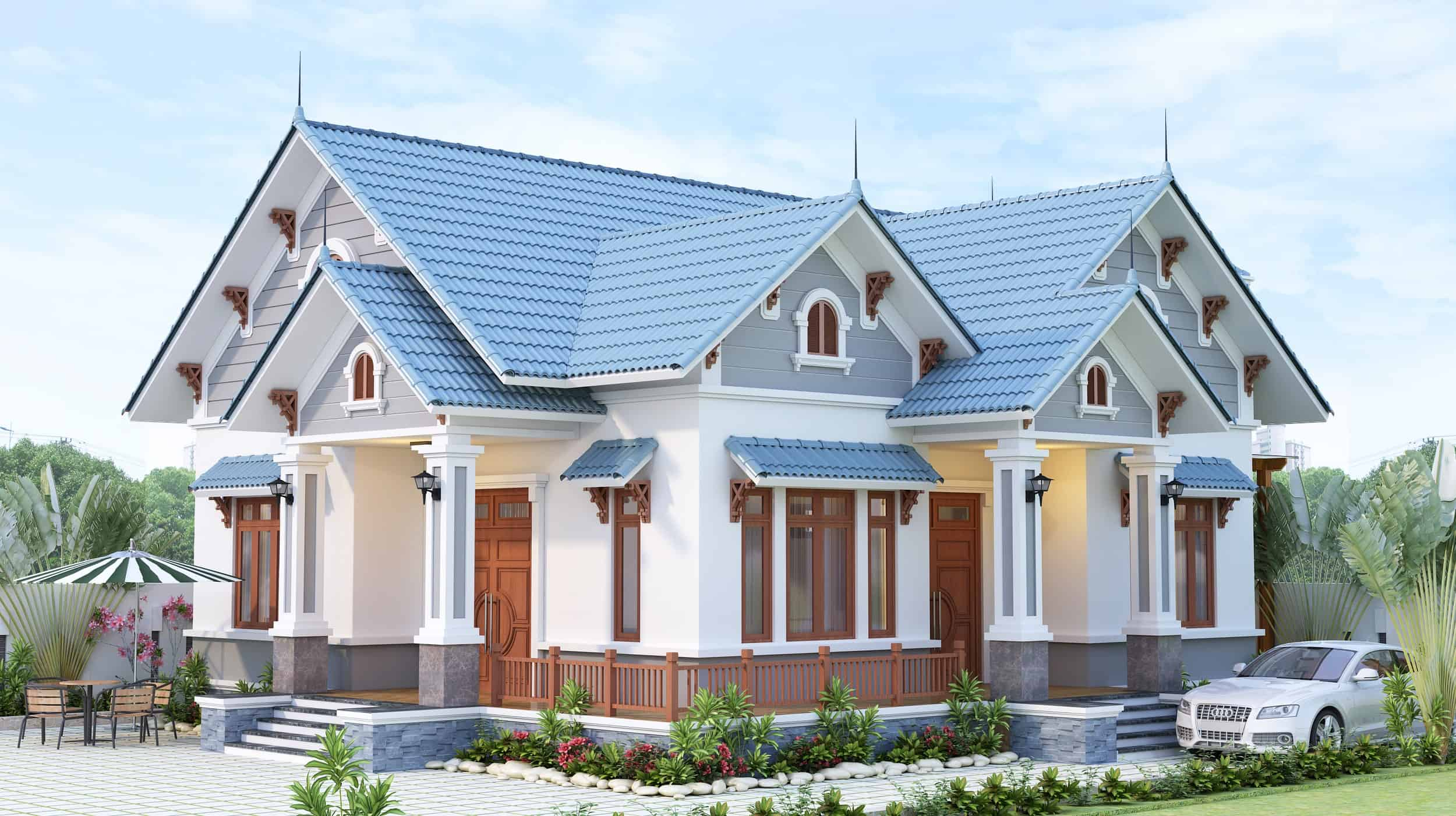 Nhà Mái Thái Đẹp 2021  20 Mẫu Thiết Kế Xuất Sắc Nhất Năm