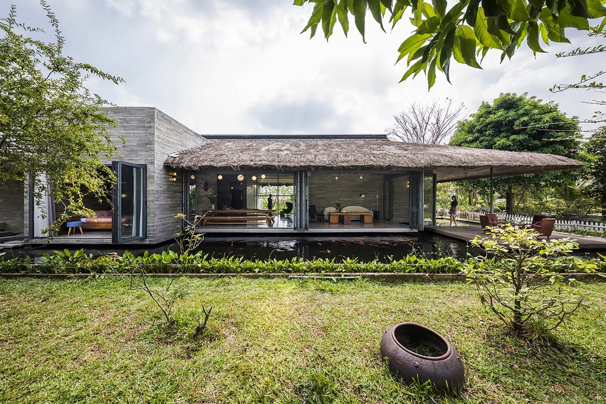Ngôi nhà vườn Am House - gác lại những lo toan trong cuộc sống